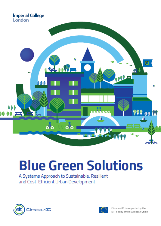 Front cover of the Blue Green Solutions Guide